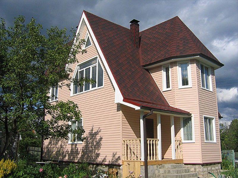 Оригинальный фасад дома: терракота и «крем-брюле»