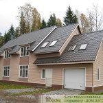 Подбор сайдинга под цвет крыши: привлекательный фасад