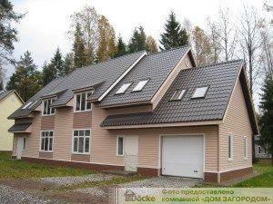 Сайдинг: цветовая гамма с крышей