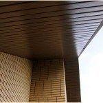 Подшив крыши сайдингом: правила выполнения работ