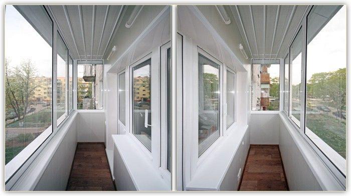 Фото современного балкона, оформленного при помощи сайдинга