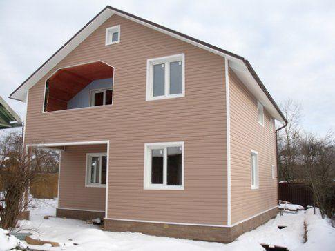 Как правильно обшить деревянный дом сайдингом
