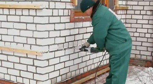 Каркас для металлосайдинга
