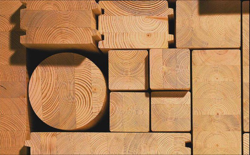 Новым материалом, появившемся на рынке, можно назвать клееный блок–хаус из дерева