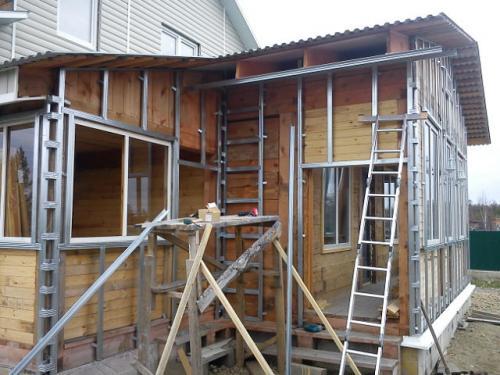 Обрешетка деревянного дома под сайдинг