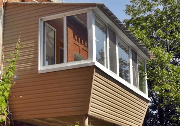 Отделка балкона своими руками виниловым сайдингом