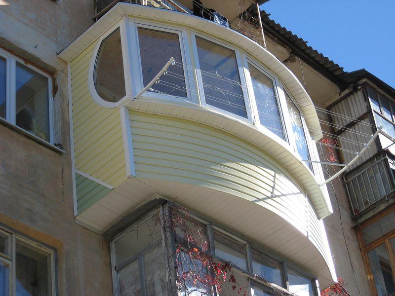 Сайдинг для обшивки балкона