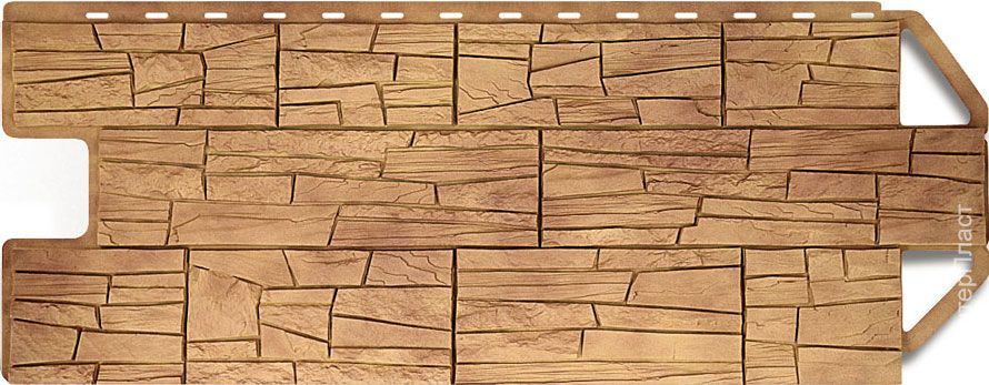 Сайдинг для цоколя «Скалистый камень» – это универсальный материал, который сочетает в себе красоту скалистых камней и горного ландшафта