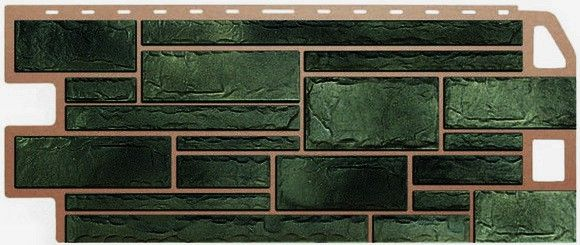 Сайдинг, создающий реальную имитацию камня малахит, - это достойный выбор для облицовки домов и иных сооружений