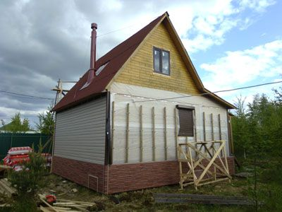 Устройство деревянной обрешетки