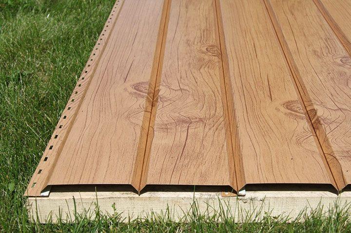 Имитация бруса сайдинг является прекрасной альтернативой деревянной отделке
