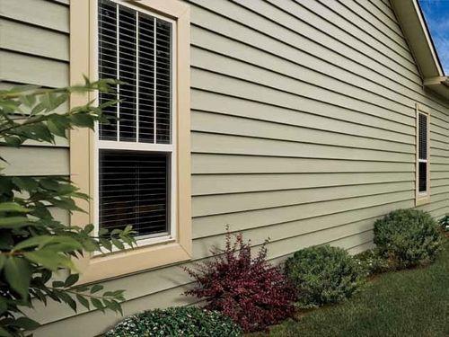 Надёжный способ отделать фасад дома, имитируя деревянную вагонку
