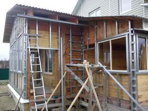 Обрешетка деревянного дома