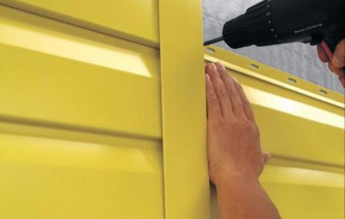 Особое внимание необходимо обращать на размеры металлического сайдинга, чтобы уберечь себя от переплаты