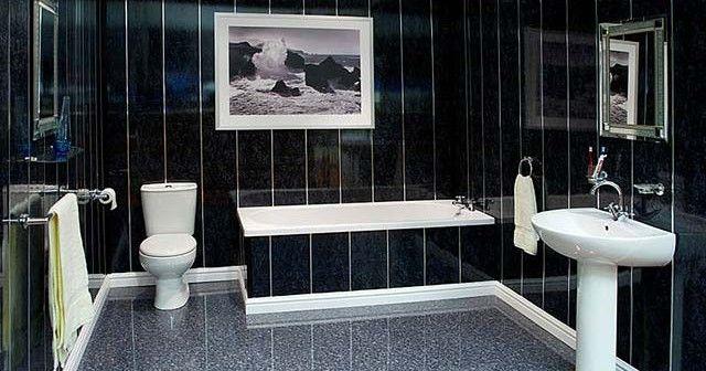 Отделка сайдингом ванной комнаты