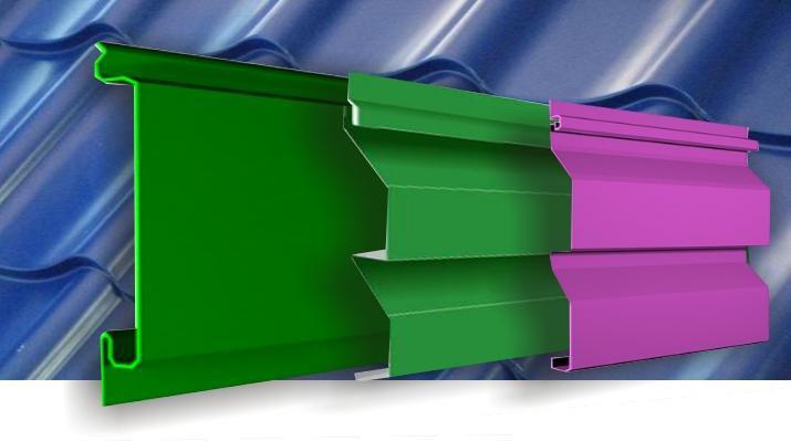 По своей структуре металлический сайдинг многослоен