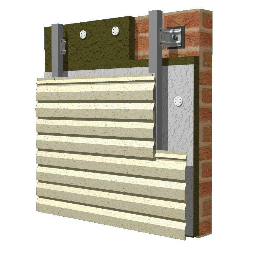 Варианты отделки фасада сайдингом: обшивка с утеплением