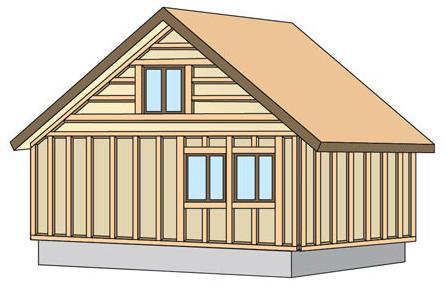 Включает в себя демонтаж наличников с окон и дверей и обработку дома антисептиком