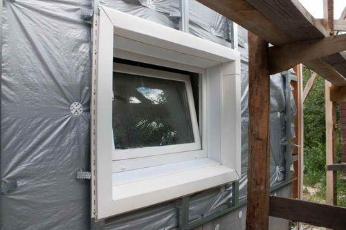 Глубина посадки окна до 20 сантиметров