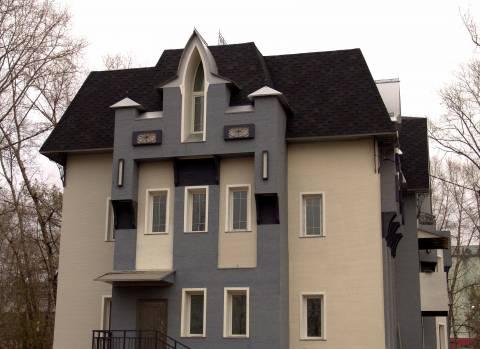 Эстетика фасада, облицованного керамосайдингом