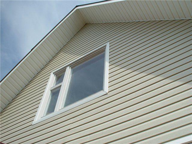Оформление окна сайдингом
