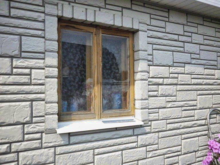 Отделка цементным сайдингом