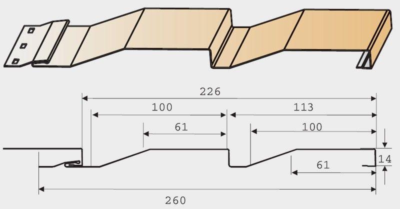 Размеры пластиковый сайдинг