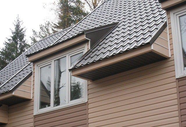 Сайдинг виниловый коричневый – идеальный фасад
