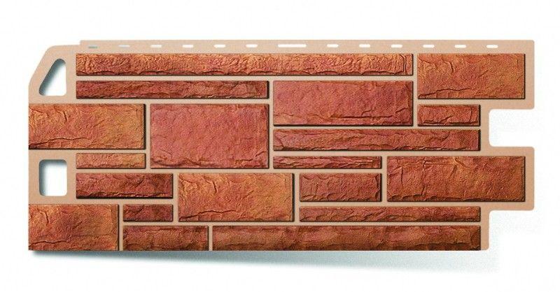 Цокольные панели: стилизация «под камень»