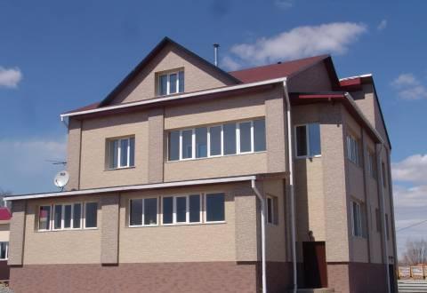 Вариант облицовки фасада керамосайдингом