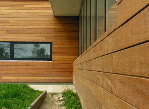 Вариант отделки деревянным сайдингом