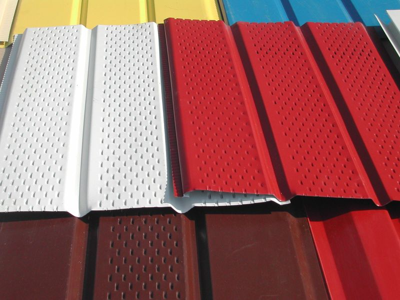 Металлосайдинг, цветовая гамма