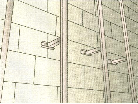 На стены из дерева обрешетка создается рейками шириной в 6 см, а толщиной большей, чем утеплитель
