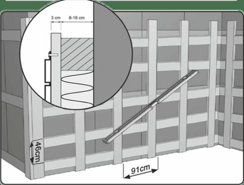 Инструкция по установке деревянной обрешетки