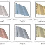 Цвета сайдинга винилового: широкая цветовая гамма для выбора
