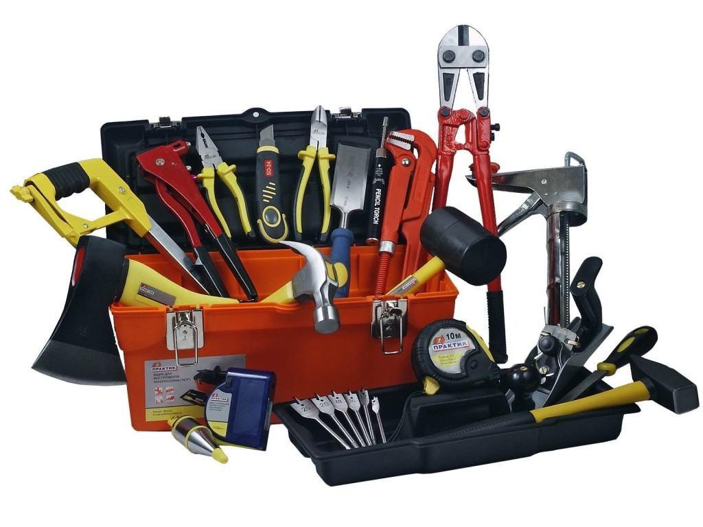 Полный набор инструментов, которые могут понадобиться для работы