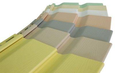 Стандартные размеры панелей сайдинга составляют 20 см в ширину и 6 метров в длину.