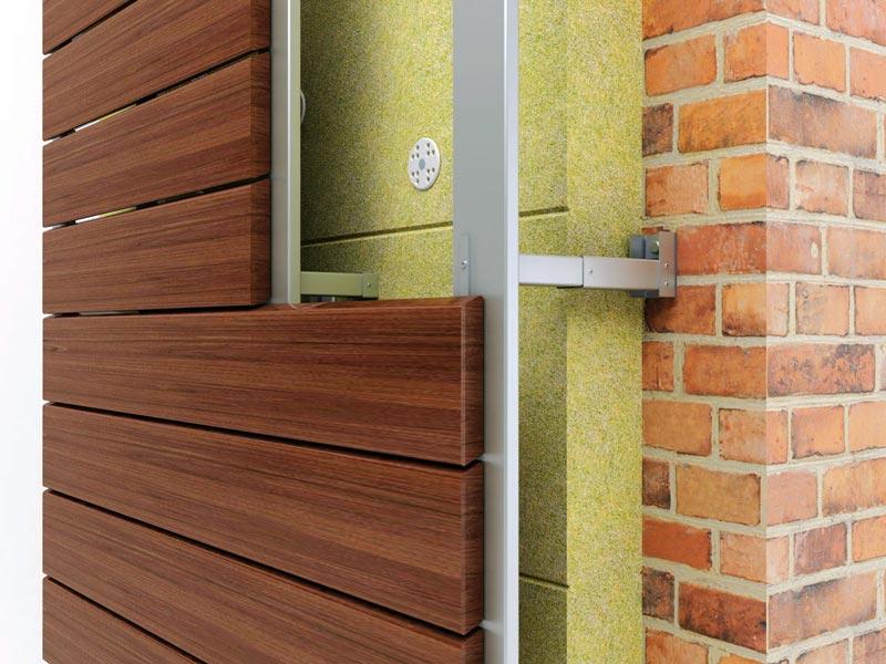 Натуральный деревянный сайдинг, один из самых дорогих вариантов фасадной отделки
