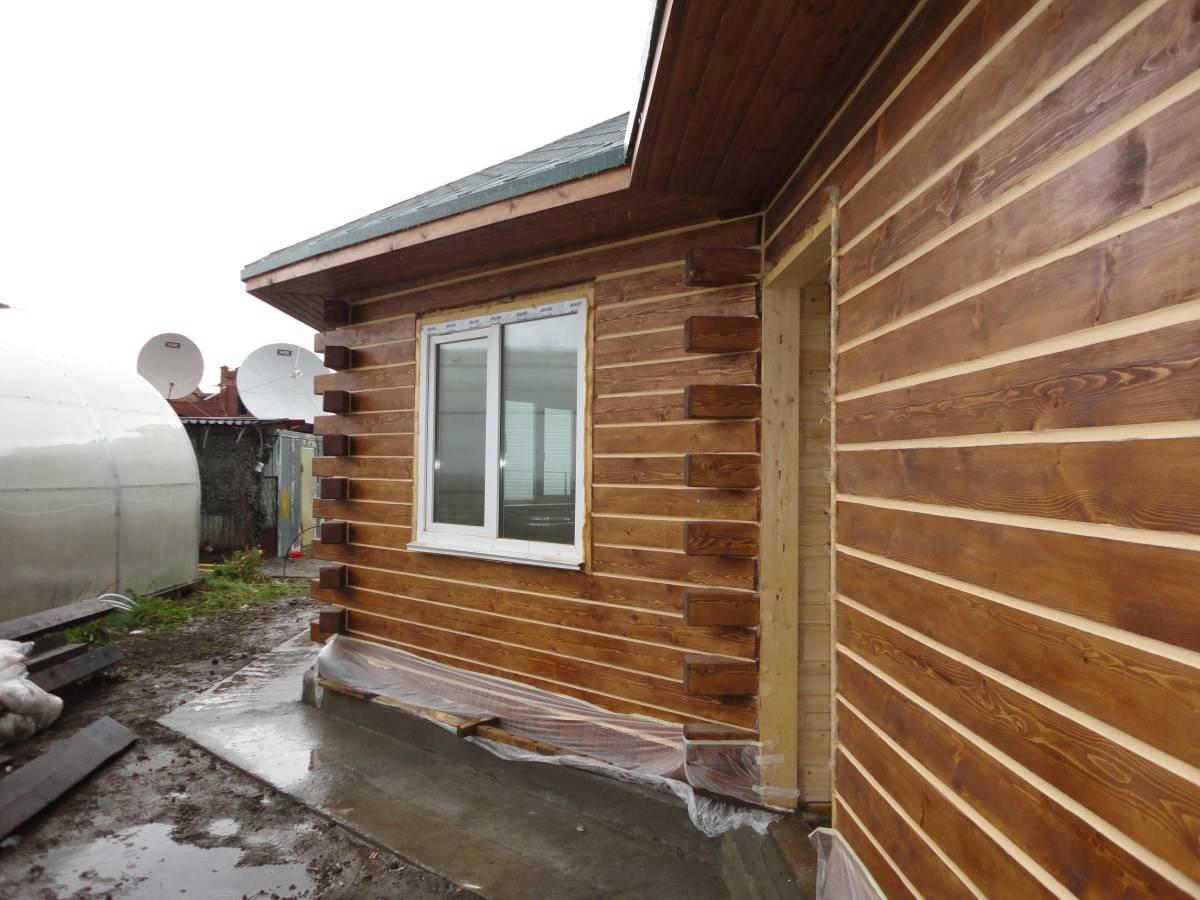 Отделка деревянного дома сайдингом фото