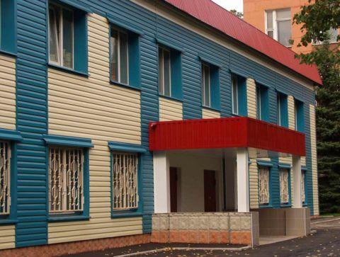 Фасад общественного здания