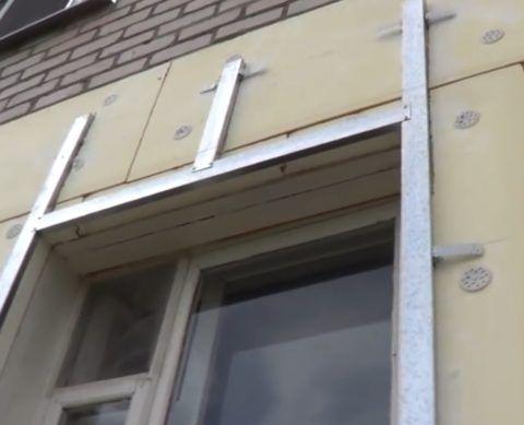 Обрамление окна профилем