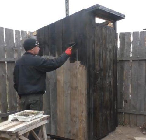 Гидроизоляция деревянной обшивки