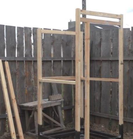 Каркас готов – на очереди крыша