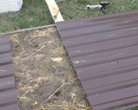 Раскрой профлиста для крыши