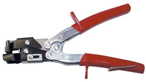 Инструмент для просечки овальных отверстий в виниловых планках