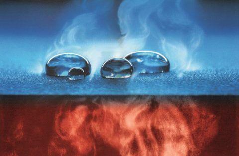 Мембрана пропускает пар и воду только в одну сторону