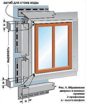 как обшить окна сайдингом видео