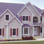 Необычное оформление фасада в трех цветах