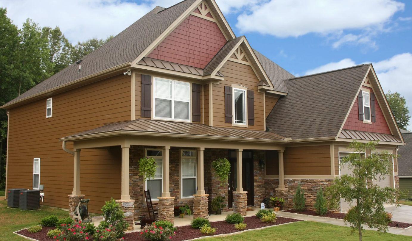 крыша для загородного дома в картинках модель можно