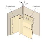 Варианты установки фурнитуры на внутреннем углу